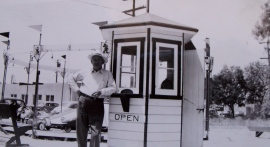 Matt-first ticket booth 1946