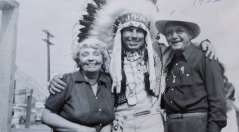 Iron Eyes, Bea & Matt