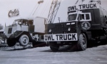Cranes & Trucks Moving Day 1958