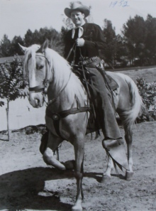 Doye O'Dell & horse