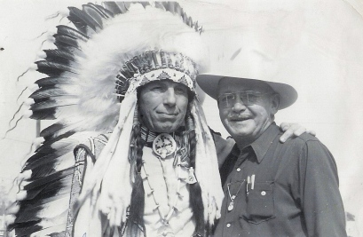Iron Eyes Cody & Matt 52