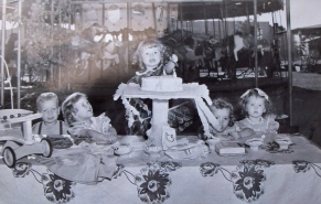 Candy bday party 1951