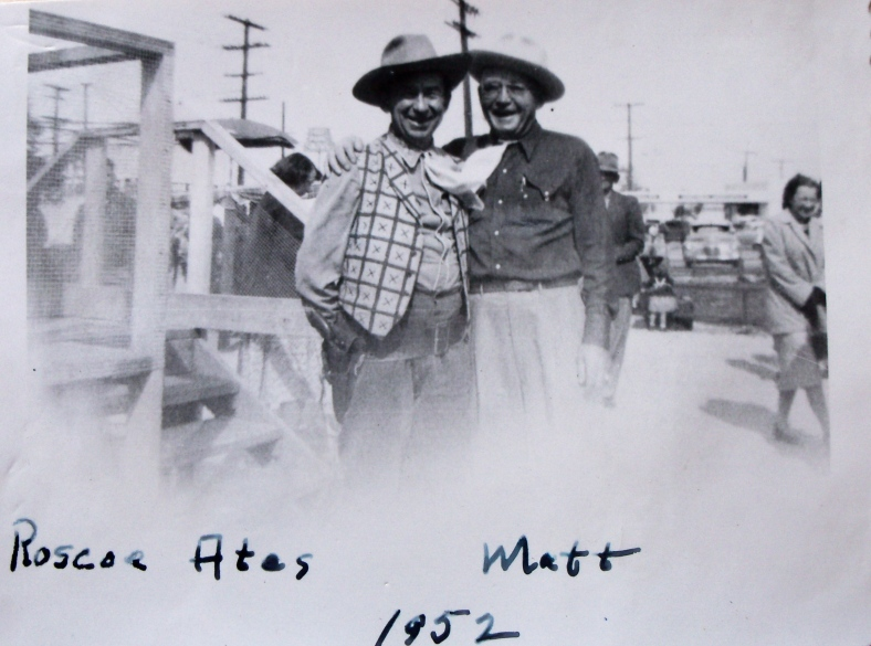 Roscoe Ates & Matt 1952