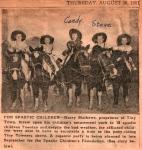 Spastic Children Event at TT Aug 1951