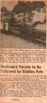 Boulevard Parade to be Followed by Kiddie Fete 1948