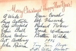 Employee Christmas Card 1956