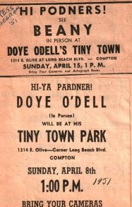 See Beany & Doye O'Dell at TT 1951