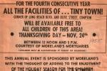 Thanksgiving Day Free TT 1955