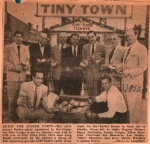 Easter Party at TT sponsored by the Compton Elks Lodge 1952