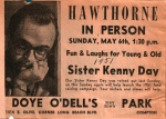 Hawthorne in Person on Sister Kenny Day 1951