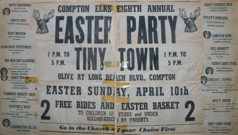 Easter Party at TT 1955